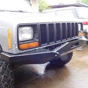 84-01 XJ Front Winch Bumper