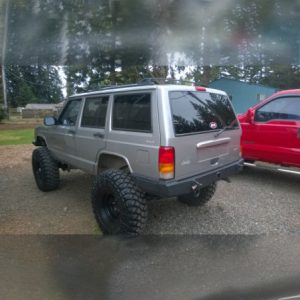 84-01 XJ Rear Bumper Kit