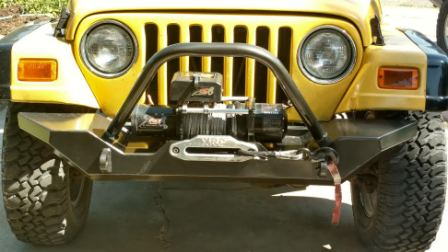 Diy jeep bumpers cstom weld yourself jeep bumper kits if you have 87 06 yj tj jeep solutioingenieria Images