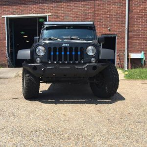 2007-16 JK Front Winch Bumper Kit