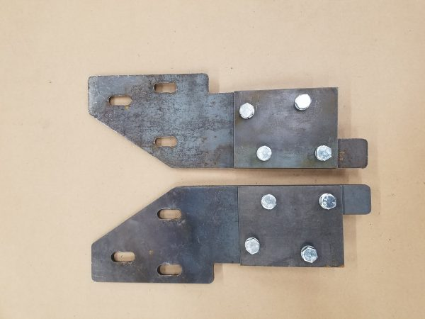 93-98 ZJ Grand Front Bumper Mounting Brackets