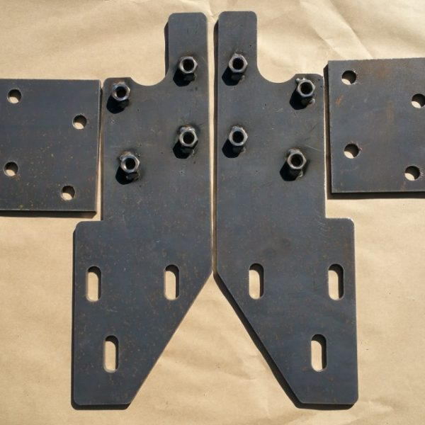 93-98 ZJ Grand Front Bumper Mounting Brackets 1