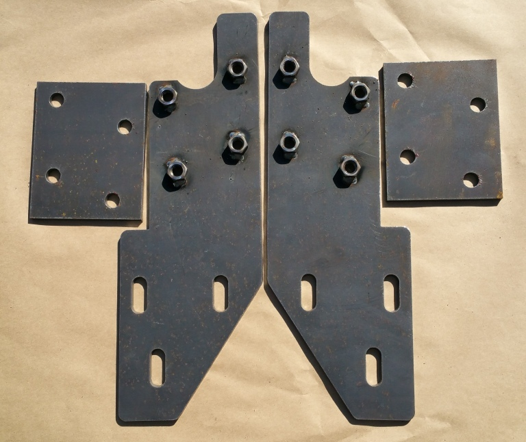 Build Your Own Jeep >> 93-98 ZJ Grand Front Bumper Mounting Brackets - DIY Off Road