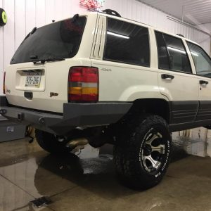 93-98 ZJ Rear Bumpers KITS - DIY Off Road