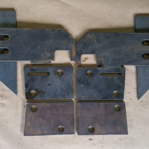 99-04 WJ Front Mounting Bracket Kit 2
