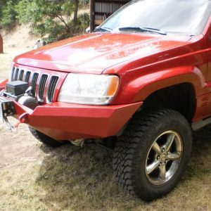 99-04 WJ Front Winch Kit