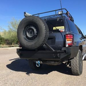 99-04 WJ Grand Cherokee Rear Bumper KIT