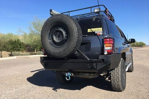 99-04 WJ Grand Cherokee Rear Bumper KIT