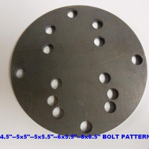 Wheel Mounting Plate