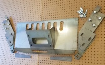 93-98 ZJ winch plate parts
