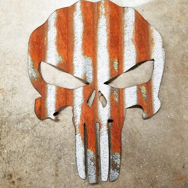 Corrugated Barn Tin Punisher